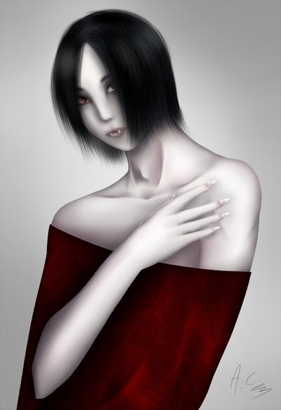 Vampire OC by AkumaCursed