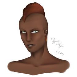 Fierce (GW2 female human) by AkumaCursed