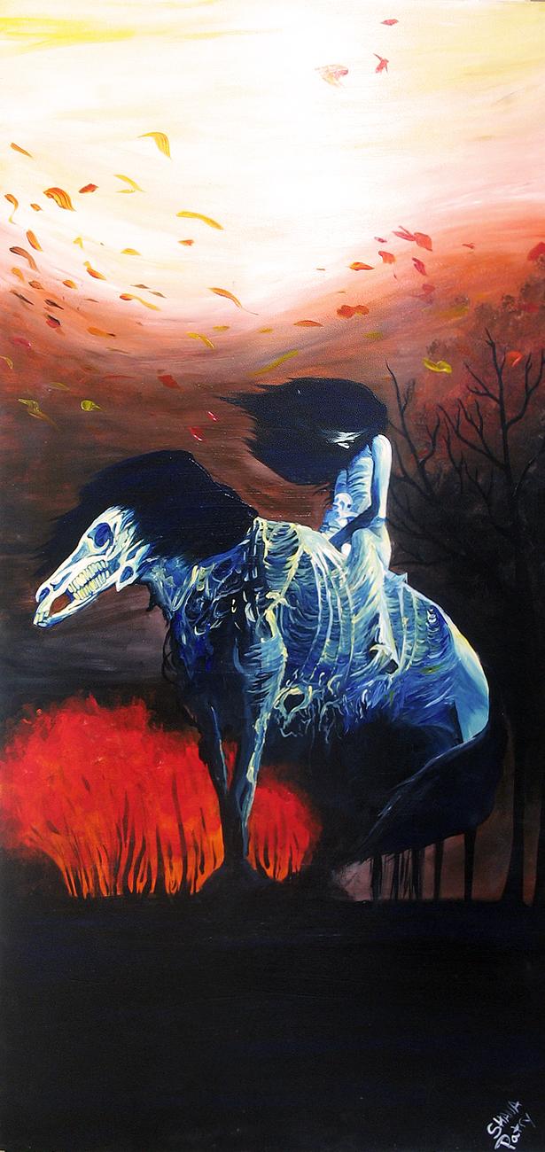 Beksinski Horse