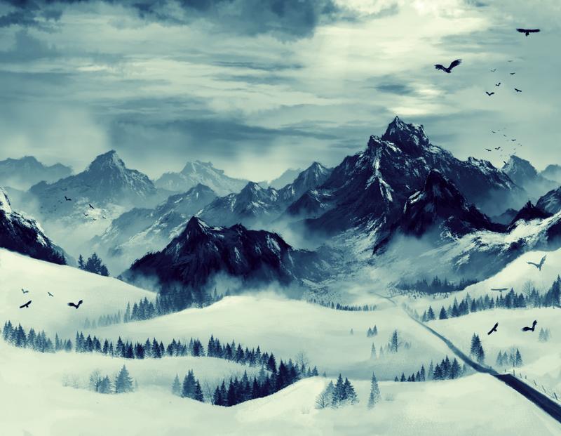 Day 56: Winter spirit wip. by TrollcreaK