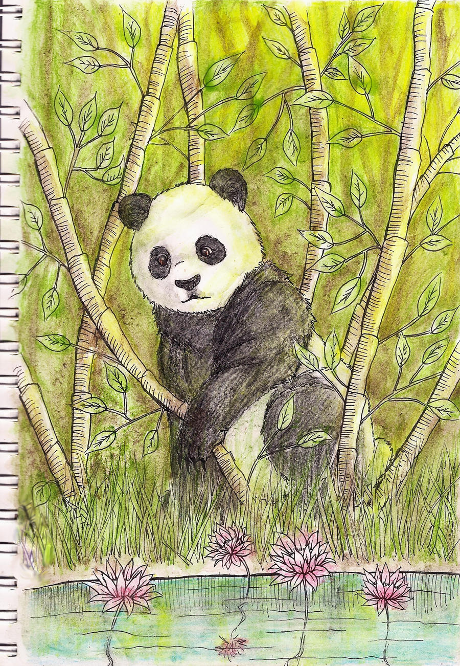 lost in the bamboo forest by Clover31
