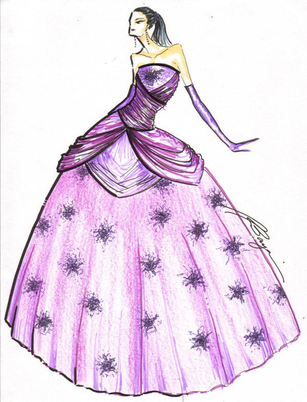 Debutante Ball Gown by fasyonish on DeviantArt