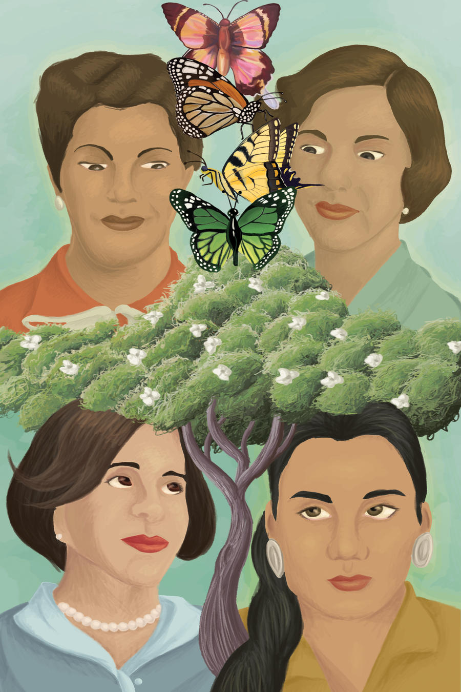 The Mirabal Sisters by SchwaGirl on DeviantArt