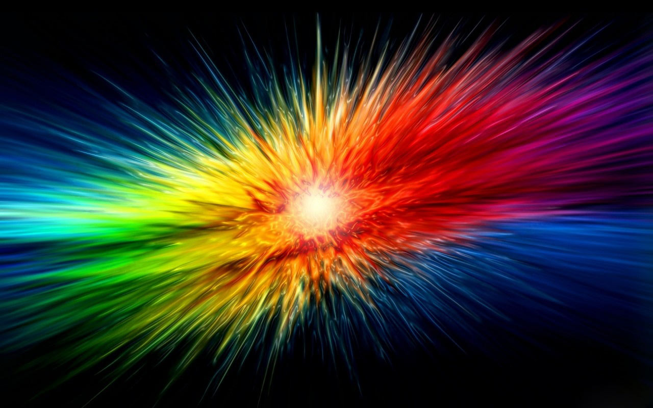 space rainbow desktop backgrounds - photo #3