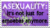 Asexuality Stamp by F-l-e-a