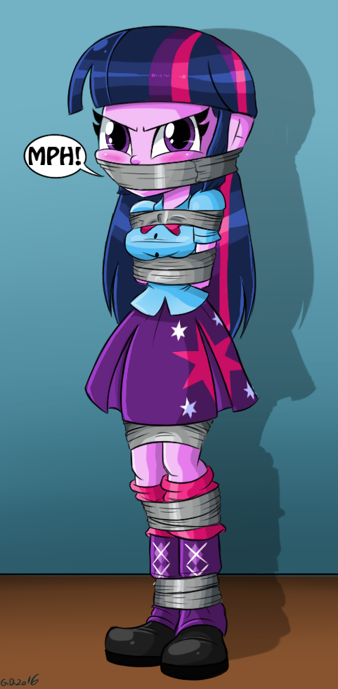 Twilight Sparkle Tied and Gagged
