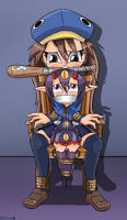 Fuka And Desco Bound and Gagged -Commission