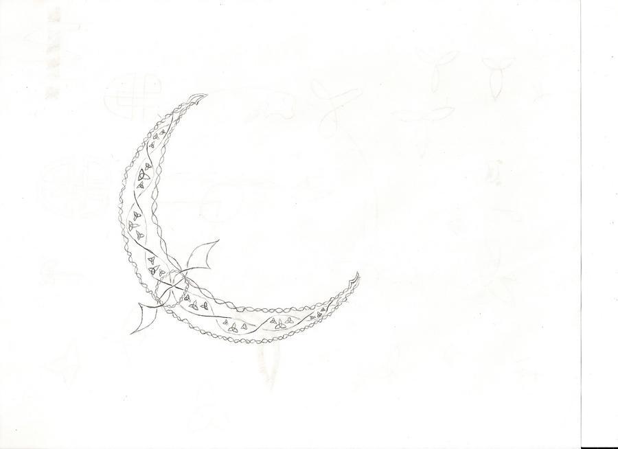 Celtic Knot Crescent Moon by pepperdeath on DeviantArt