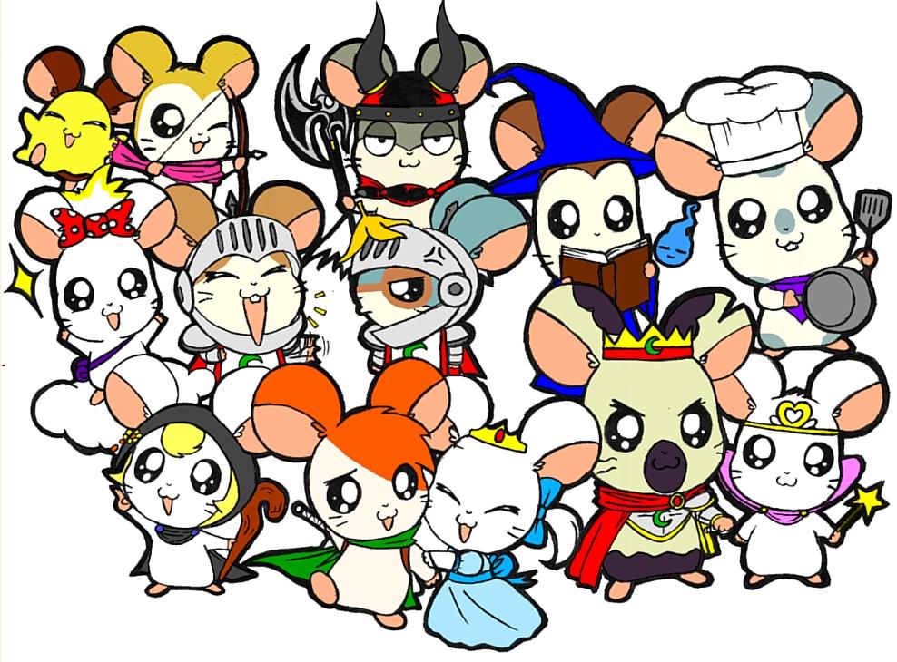 Hamtaro Oshare Related Keywords & Suggestions - Hamtaro Oshare Long ...