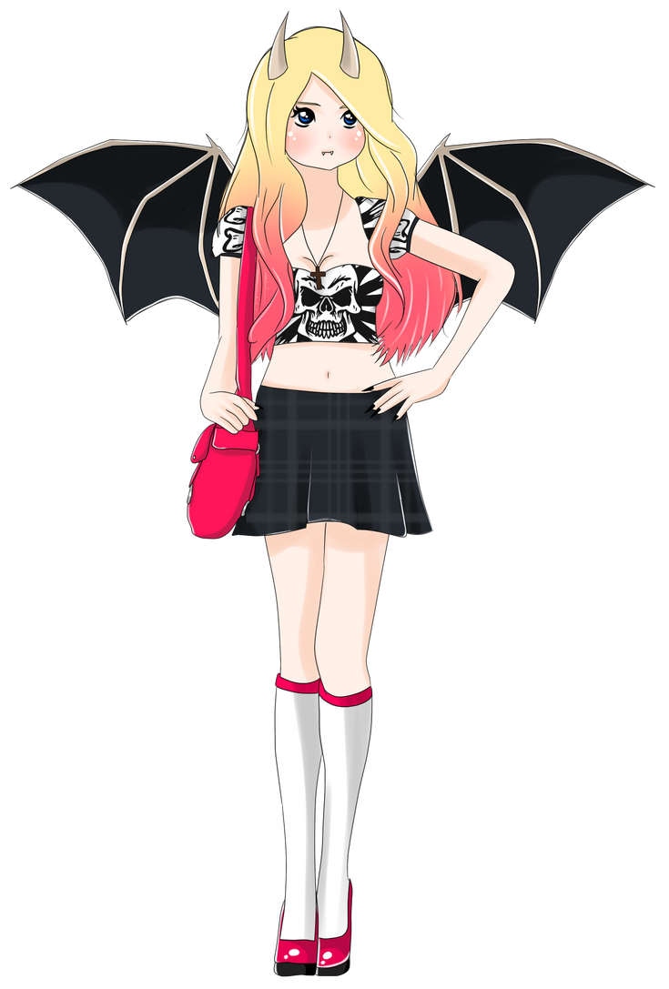 Adoptable Demongirl Auction ::CLOSED:: by MissxKyle