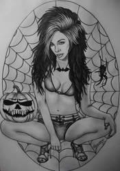 Halloween Queen by ArtIsLife88