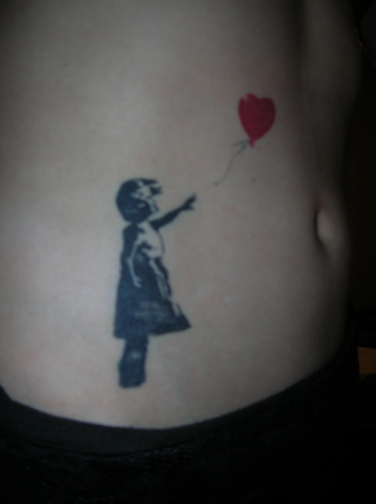 My 'Banksy' inspired tattoo