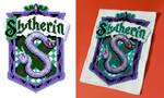 Slytherin Cross-Stitch