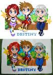 Destiny Island Cross-Stitch