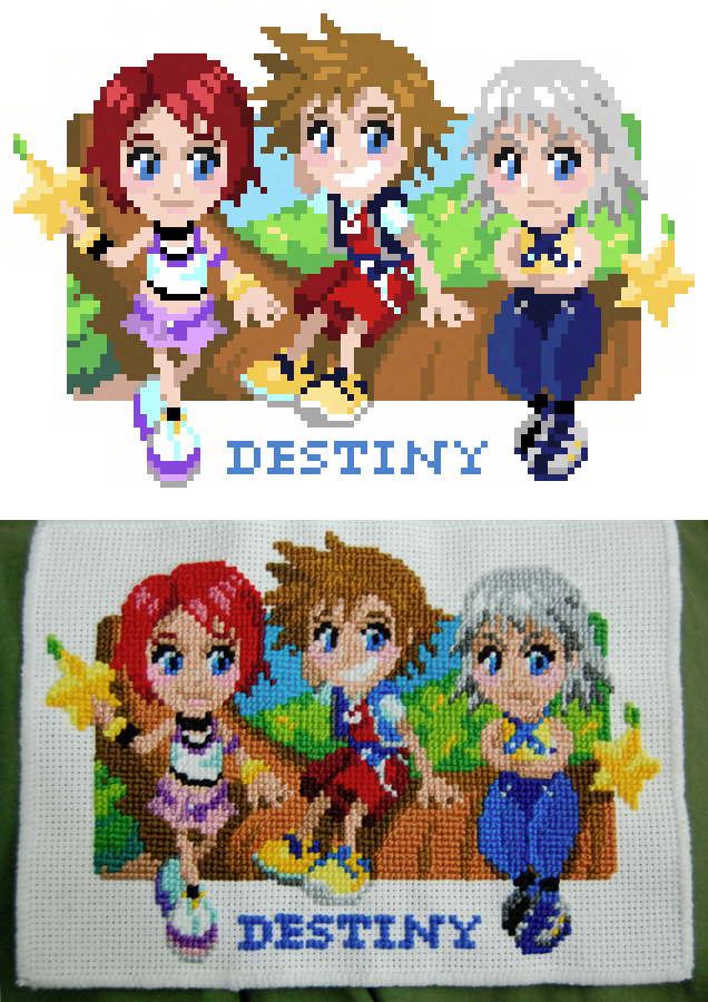 Destiny Island Cross-Stitch by Cpresti