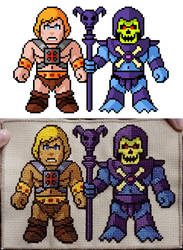 Masters of the Universe Cross-Stitch