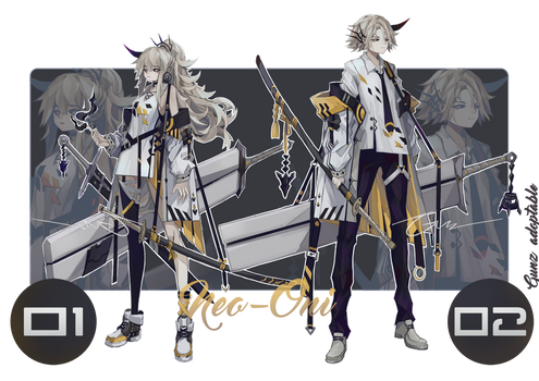 [CLOSED] Adoptable #50 Neo-Oni [AUCTION]