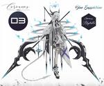 [CLOSED] Coroanos #03 Blue Sapphirine [AUCTION]