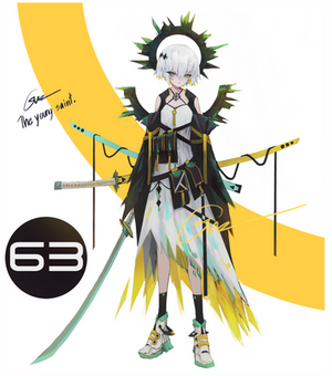 [CLOSED] Adoptable #63 Young Saint [Auction]