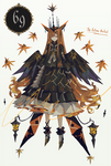 [CLOSED] Adoptable #69 Autumn Ballad [AUCTION] by GUNZ-Illustration