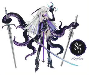 [CLOSED] Adoptable #85 Kraken [AUCTION]