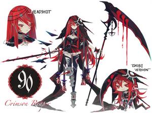 [CLOSED] Adoptable #90 Crimson Reaper [AUCTION]