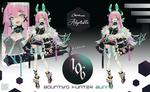 [CLOSED] Adoptable#106 Bounty's Hunter Bunny
