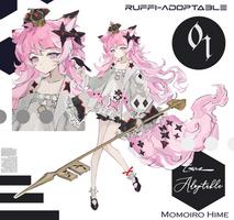 [OPEN] Ruffi-Adoptable #01 Momoiro Hime [AUCTION]