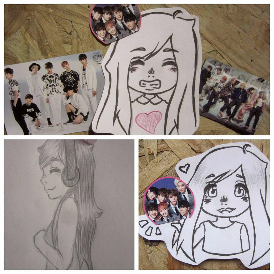 Yes, I really love BTS ~ by mailinyan