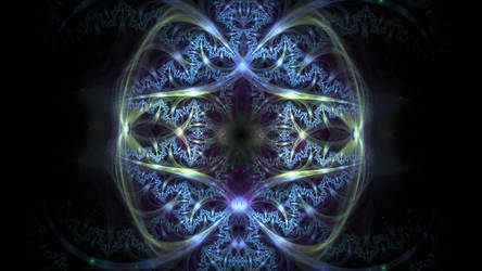 Silver Buckle Design by Fractamonium