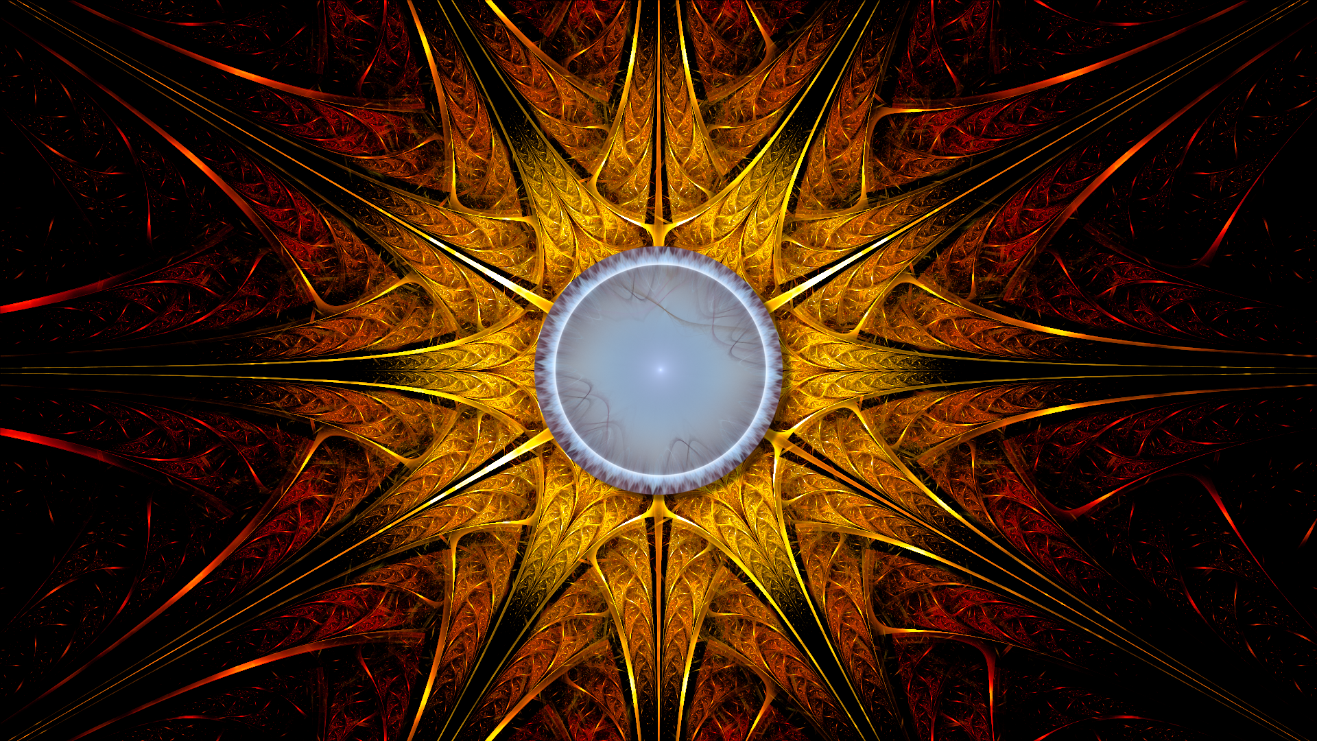 Parvan's Amulet by Fractamonium
