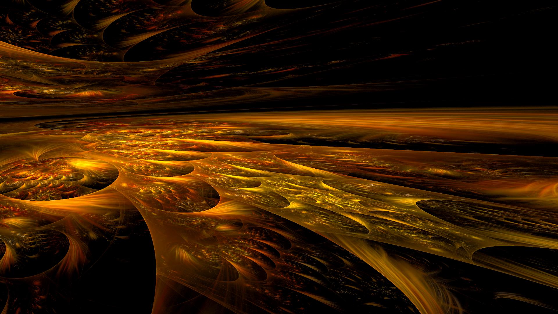 The Spiral Desert by Fractamonium