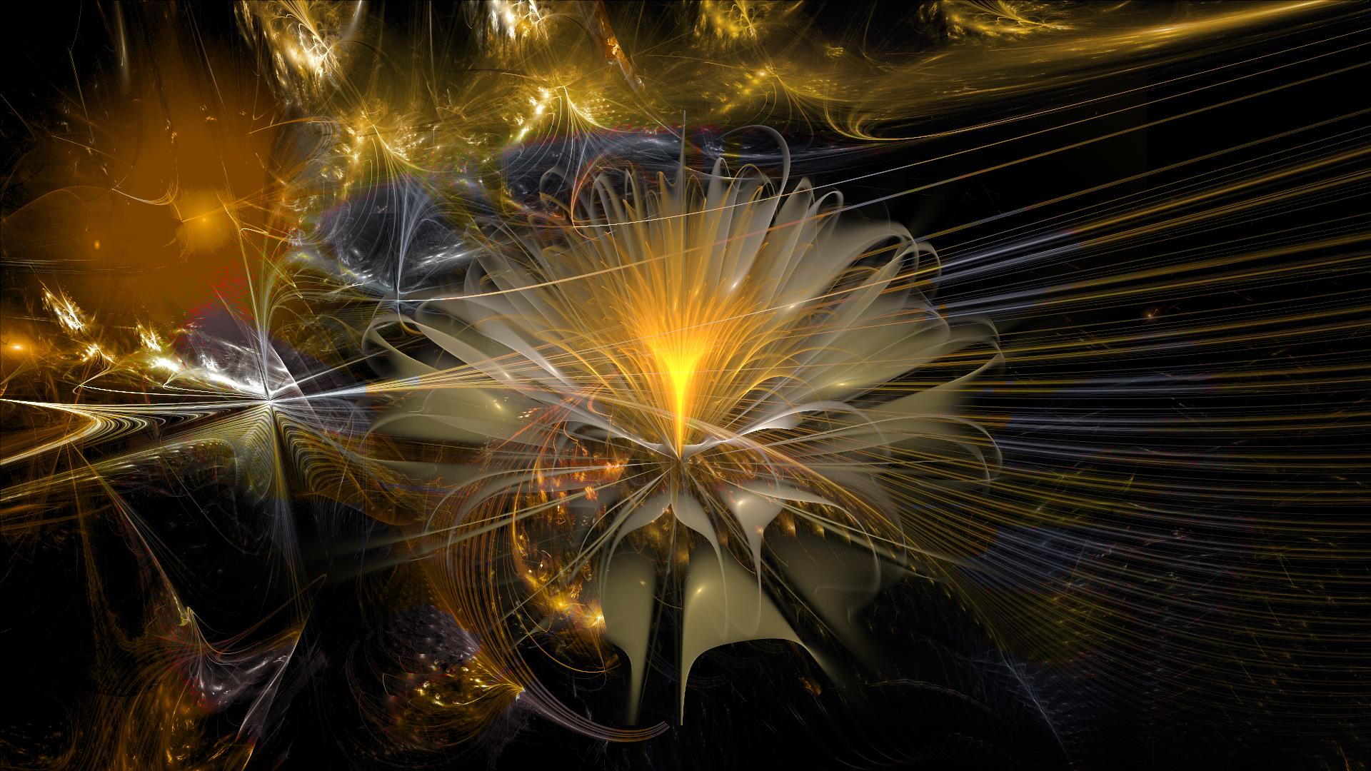 The Galactic Flower by Fractamonium