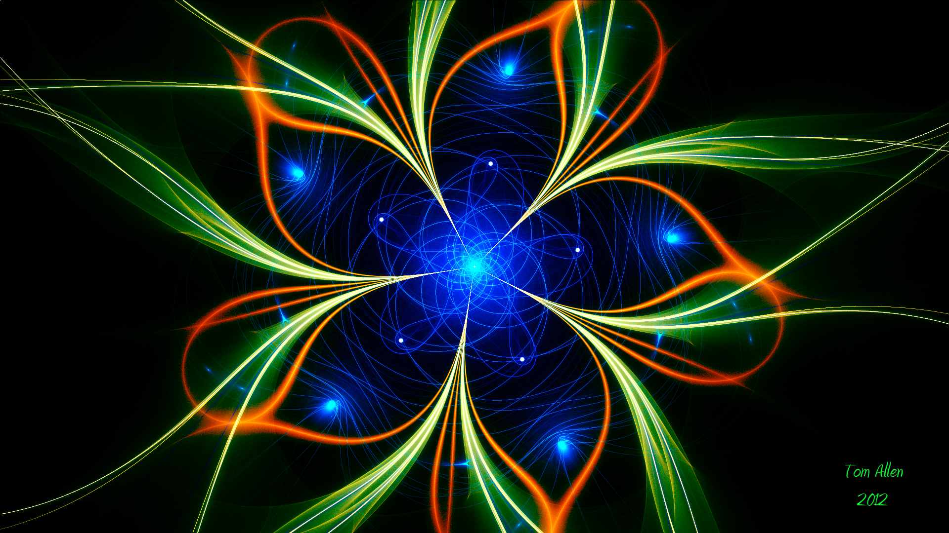Astral Flower by Fractamonium