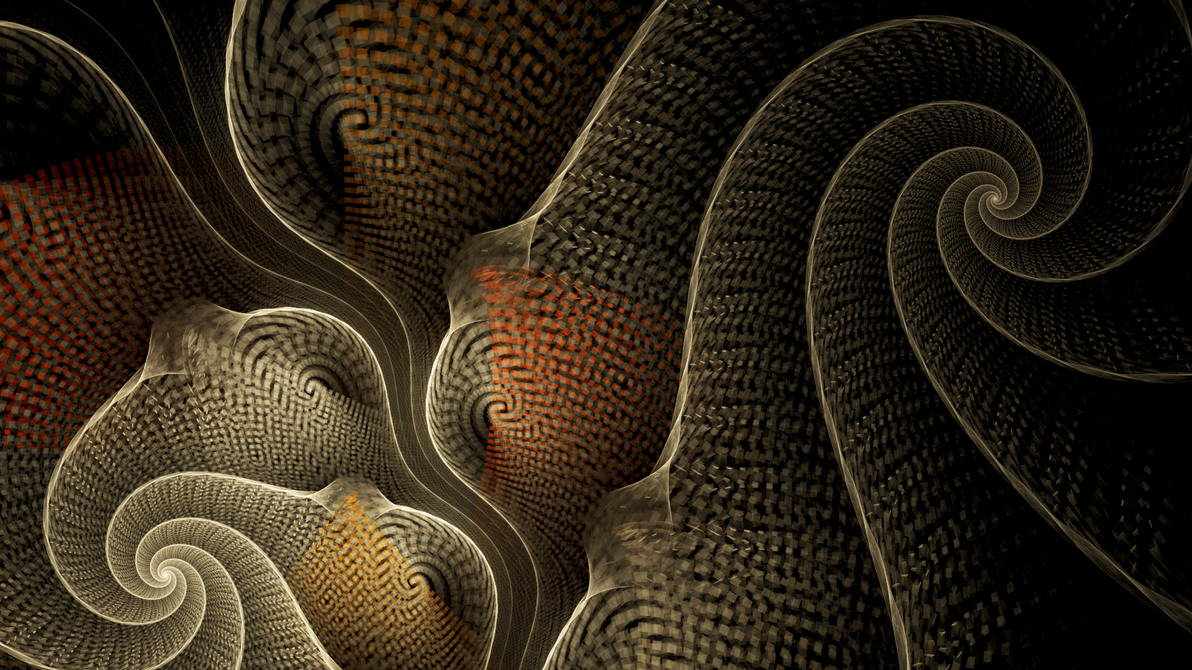 Coiled Weave by Fractamonium