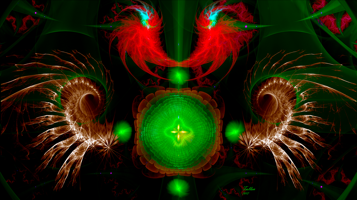 Abstractal I by Fractamonium