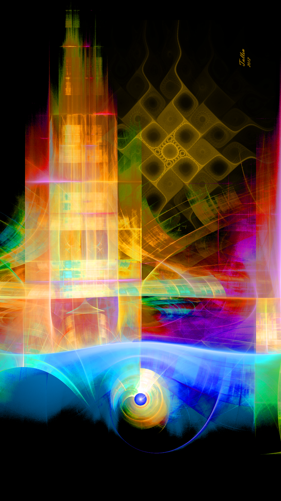 Abstractal IV by Fractamonium