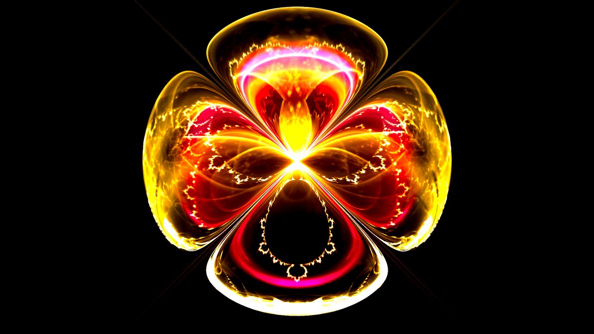 Mandelbrot Flower by Fractamonium