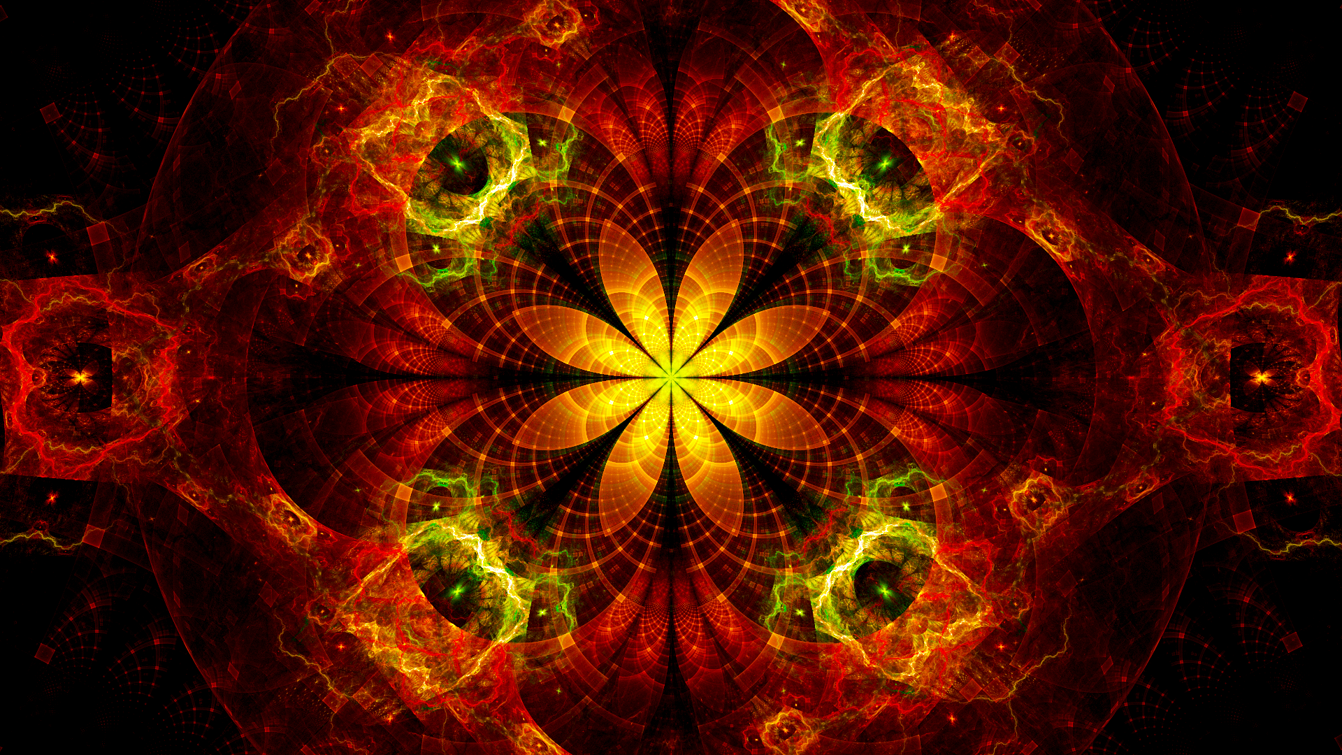 Blooming Onion by Fractamonium