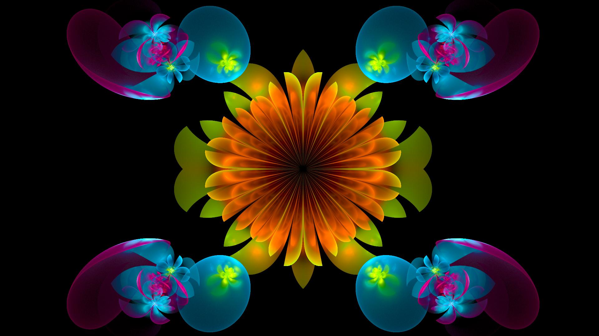 The Flower by Fractamonium