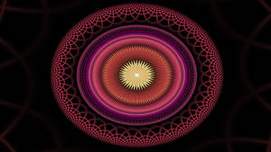 Oval Mandala I