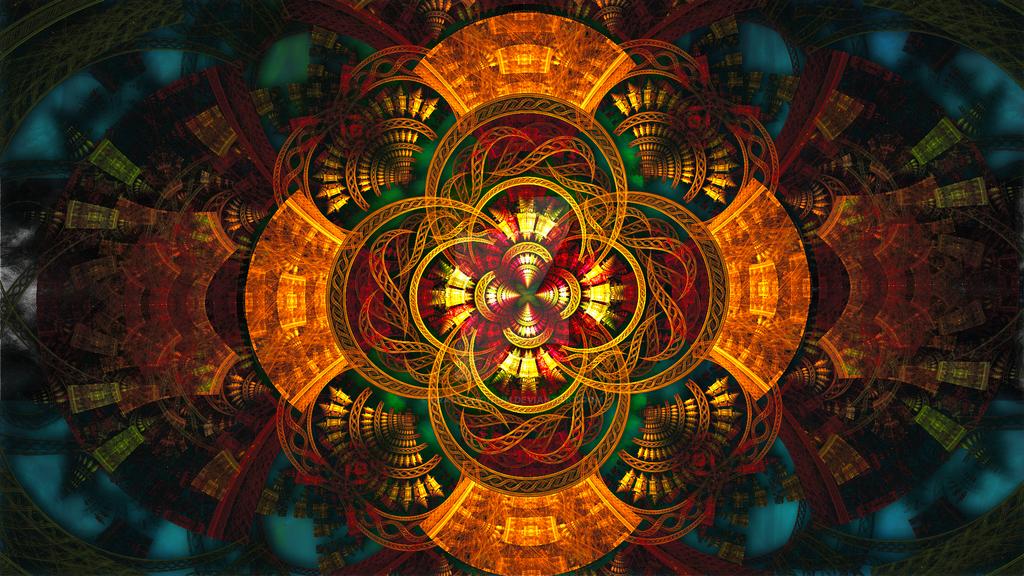 Celtic Cross by Fractamonium