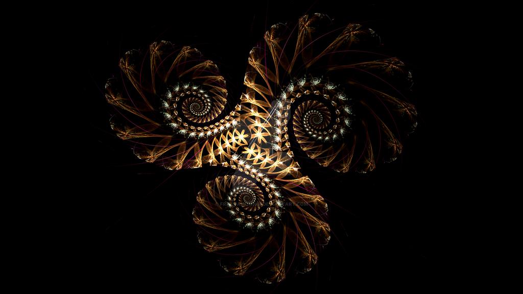 Spiral Study 4 by Fractamonium