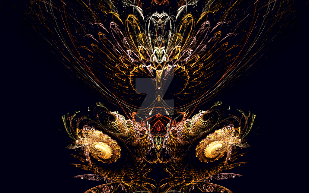 The Throne by Fractamonium