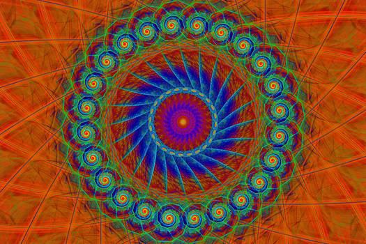 Swirl Mandala