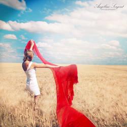 Il viale dei grani by red-liight