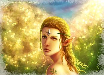Elf by Genisc