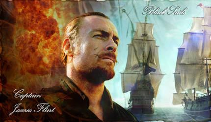 Captain James Flint (Black Sails) by Genisc