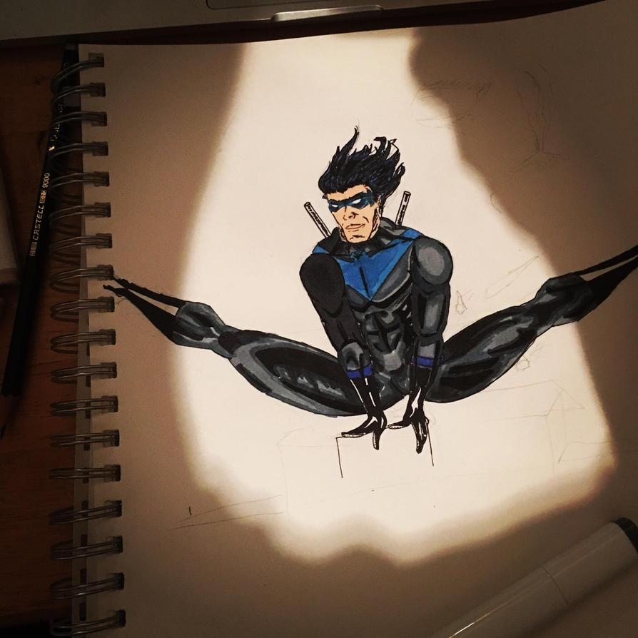 Nightwing day 2 by PawelParol85
