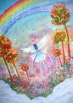 Dreaming In Rainbow: Sky Garden by mapelie